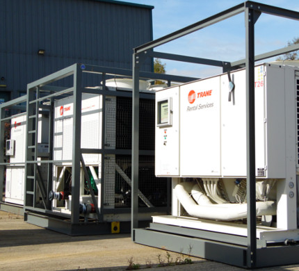 Trane chiller hire ranges available for your urgent requirements