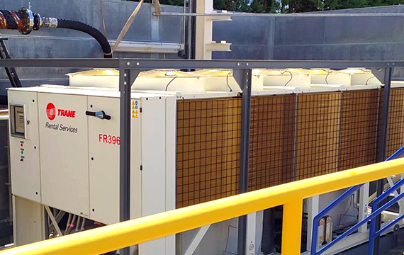 Emergency cooling to meet critical increased productivity needs