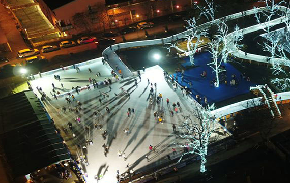 EventsDependable ice for two major seasonal attractions