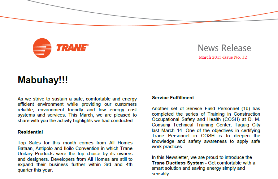 NewsLetter trane philippines baysens135a wiring diagram at suagrazia.org