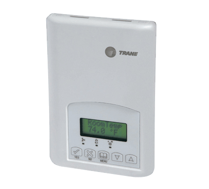 communicating thermostats trane commercial rh trane com Trane Touch Screen Thermostat Manual Trane Heat Pump Thermostat Wiring Diagram