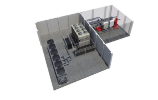 Ice-enhanced, Air-cooled Chiller Plant