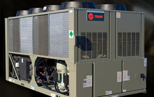 Air Cooled Chiller Scroll Chiller Model Cgam Trane