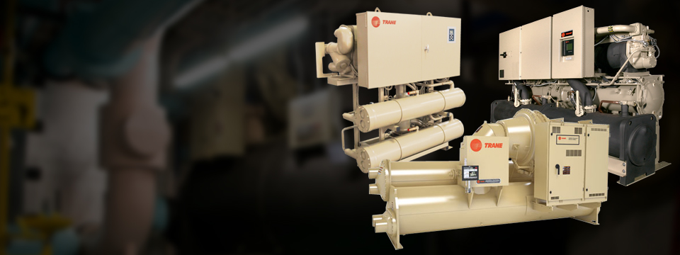 Water Cooled Chillers Trane Commercial