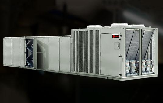 rooftop unit intellipak i 20 to 130 tons trane commercialintellipak™ i rooftops