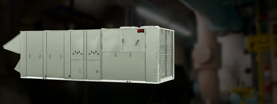 VIIIangle Hero rooftop units and systems trane commercial