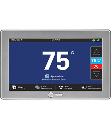 2019 Smart Thermostats | Precise Temperature Control | Trane®