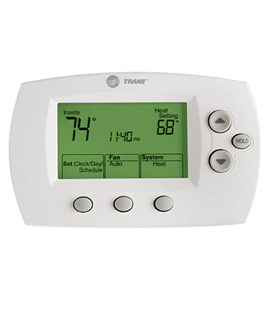 Trane programmable thermostat instruction manual best setting smart thermostat control panels hvac technology trane rh trane com trane thermostat wiring guide trane thermostat fandeluxe Images