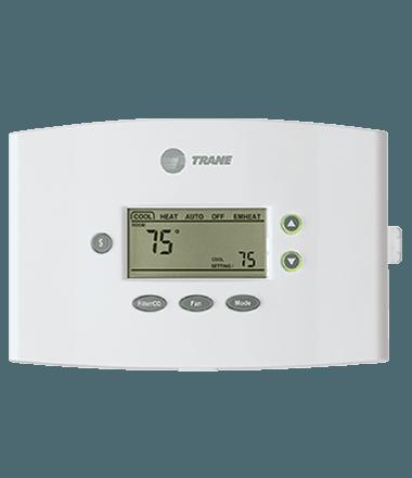 xr401 manual thermostat trane rh trane com trane air conditioners thermostat manual Trane Touch Screen Thermostat Manual